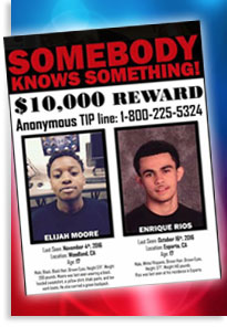 Please help find two missing teens in our community!