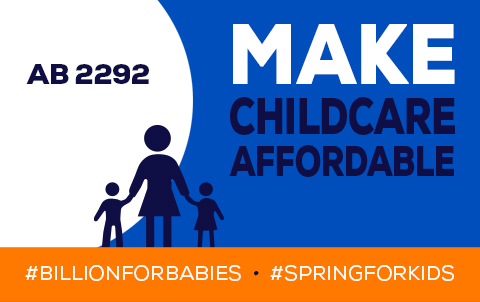 Make Childcare Affordable Graphic