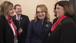 Assemblymember Aguiar-Curry Speaks to Former Congresswoman Gabrielle Giffords about Stopping Gun Violence