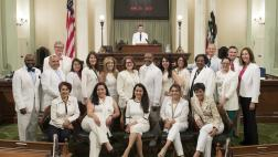 White Suit Day at the Capitol